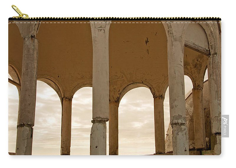 Bubble Houses Carry-all Pouch featuring the photograph Arches by Christine Stonebridge