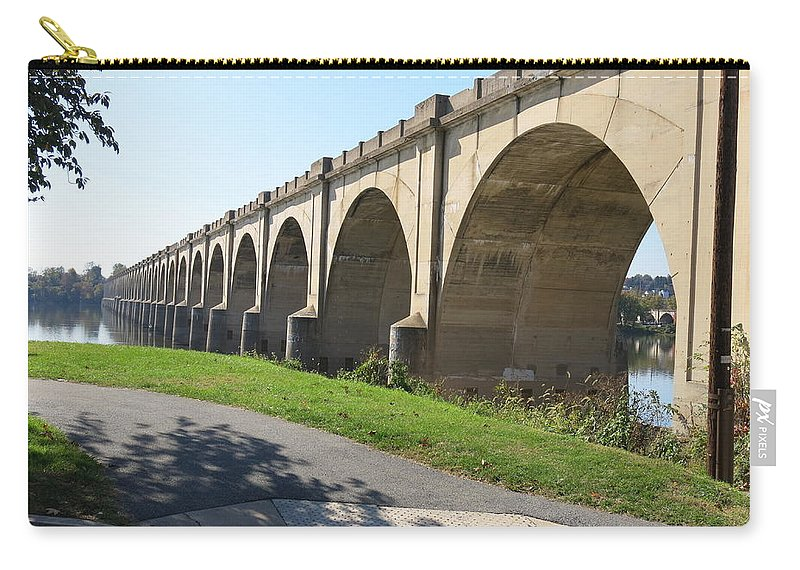 Arches Carry-all Pouch featuring the photograph Arches by Jean Macaluso