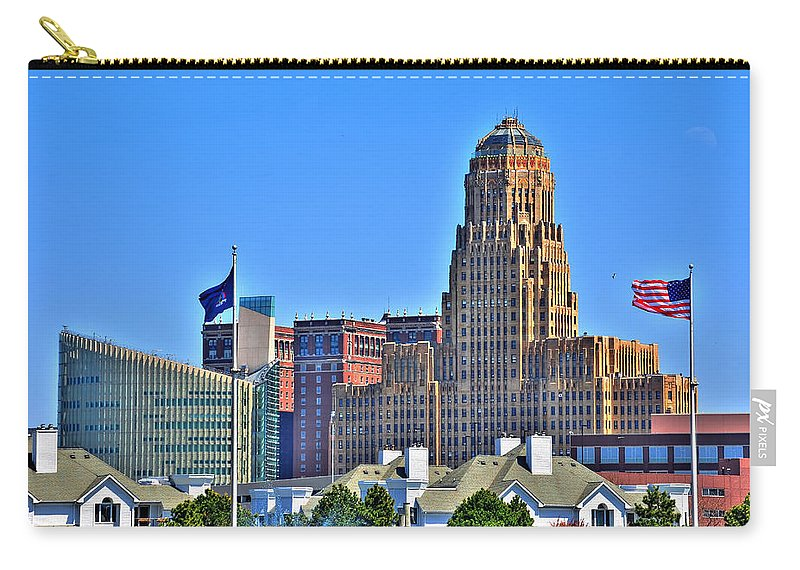 Carry-all Pouch featuring the photograph Architectural Eye Candy by Michael Frank Jr