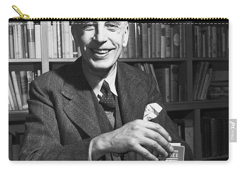 1947 Carry-all Pouch featuring the photograph Arnold Joseph Toynbee by Granger