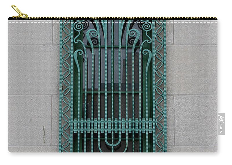 Art Deco Window Carry-all Pouch featuring the photograph Art Deco 11 by Andrew Fare