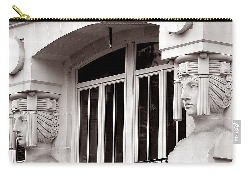 Paris Carry-all Pouch featuring the photograph Art Deco 17 by Andrew Fare