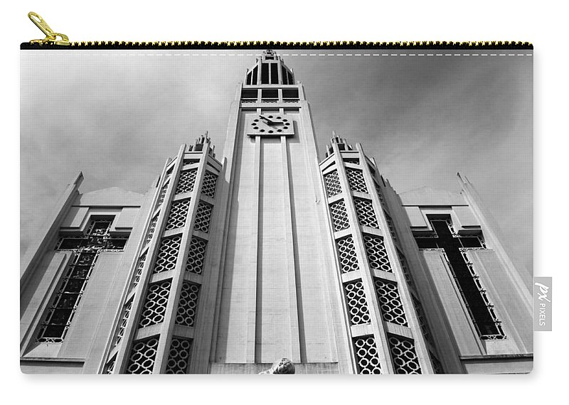Paris Carry-all Pouch featuring the photograph Art Deco Church by Andrew Fare
