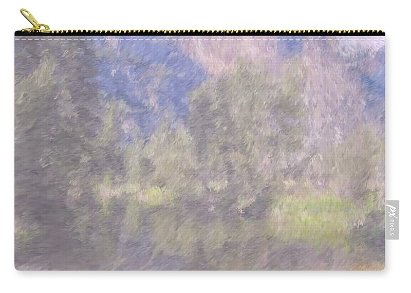 Monet Carry-all Pouch featuring the photograph As If Monet Painted Yosemite by Heidi Smith
