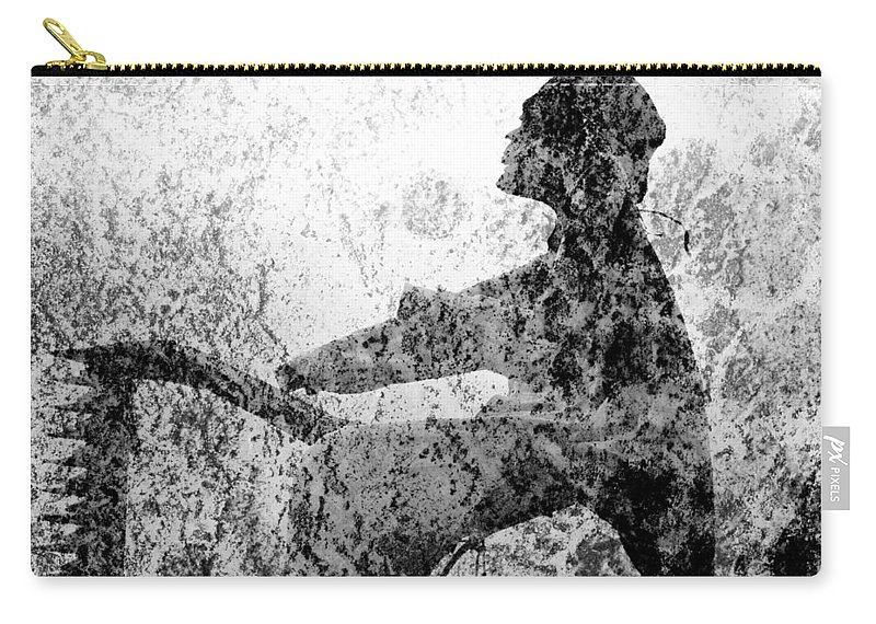 Dust Carry-all Pouch featuring the photograph Ashes To Ashes by John Stephens