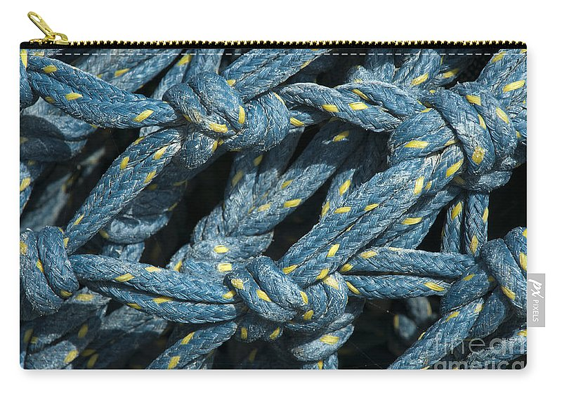 Recreation Carry-all Pouch featuring the photograph At The Docks by Sandra Bronstein