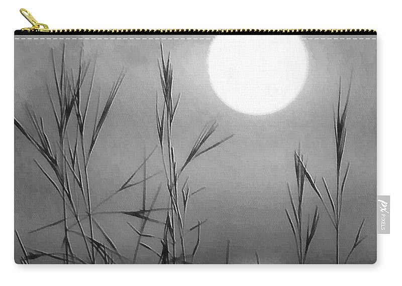 Full Moon Carry-all Pouch featuring the photograph At The Full Moon by Dragica Micki Fortuna
