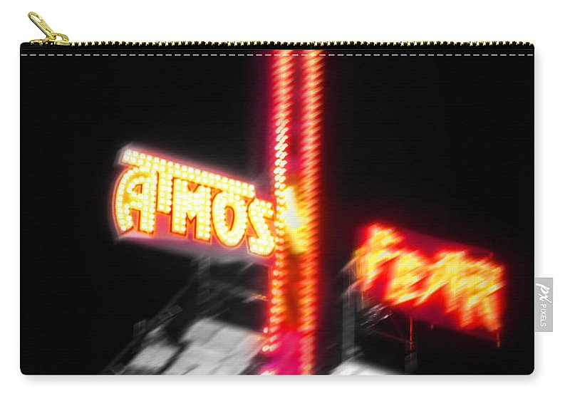 Atmosphere Carry-all Pouch featuring the digital art Atmos Fear by Charles Stuart