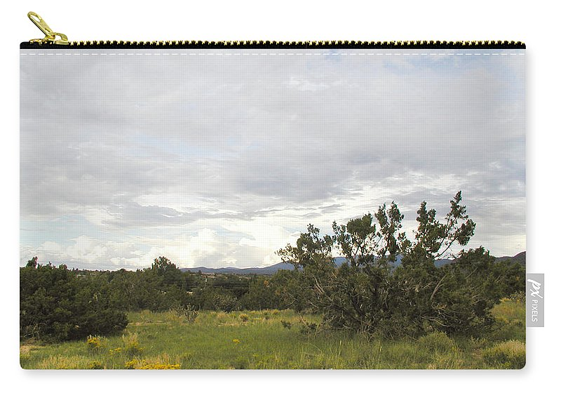 Desert Carry-all Pouch featuring the photograph August Desert by Kathleen Grace