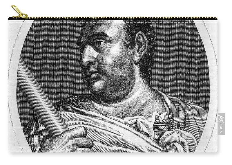 1st Century Carry-all Pouch featuring the photograph Aulus Vitellius (15-69 A.d.) by Granger