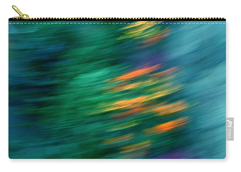 Colette Carry-all Pouch featuring the painting Autumn by Colette V Hera Guggenheim