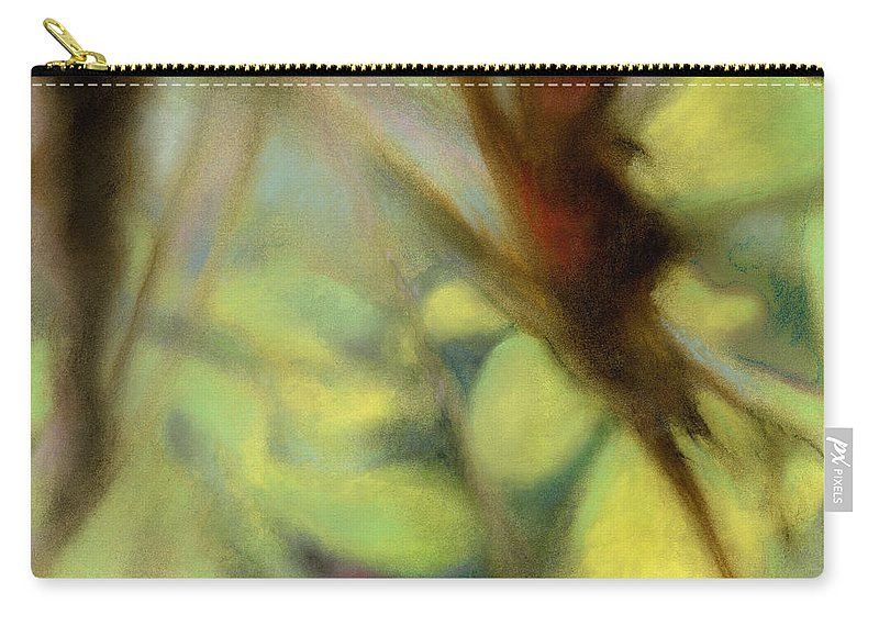 Pastel Carry-all Pouch featuring the painting Autumn Dream by Andrew King