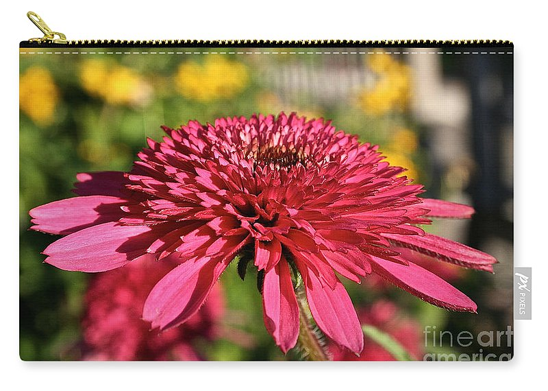 Outdoors Carry-all Pouch featuring the photograph Autumn Pink by Susan Herber