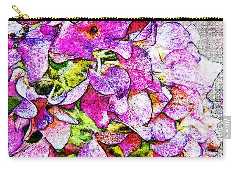 Nature Carry-all Pouch featuring the photograph Autumn Purple II by Debbie Portwood