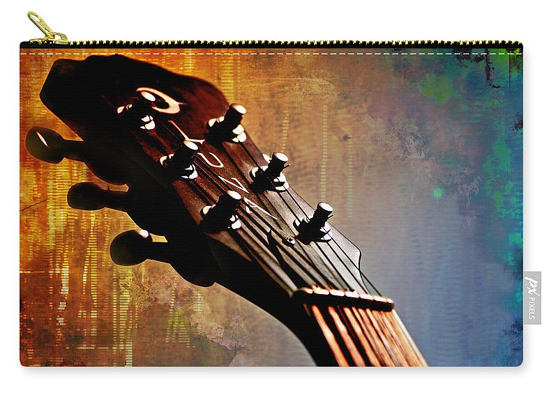 Autumn Rhapsody Carry-all Pouch featuring the photograph Autumn Rhapsody by Christopher Gaston