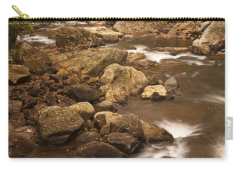 Glade Carry-all Pouch featuring the photograph Babcock Creek Scene 2 by John Brueske