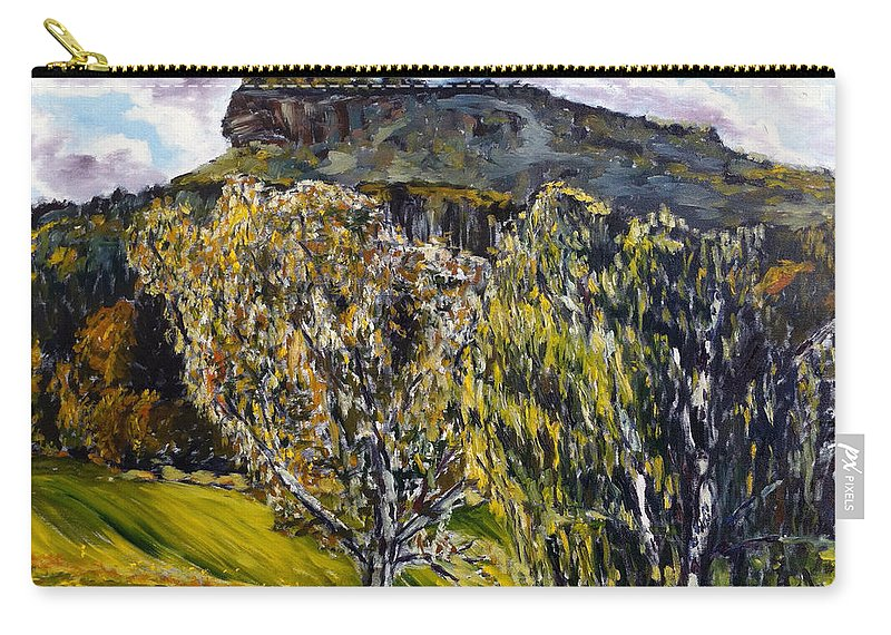 Landscape Carry-all Pouch featuring the painting Babovka by Pablo de Choros