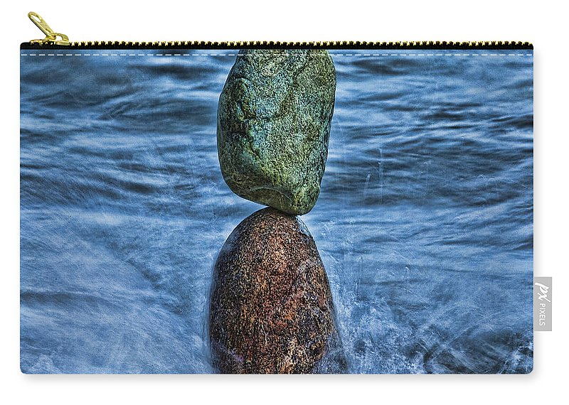 Crete Carry-all Pouch featuring the photograph Balancing by Casper Cammeraat