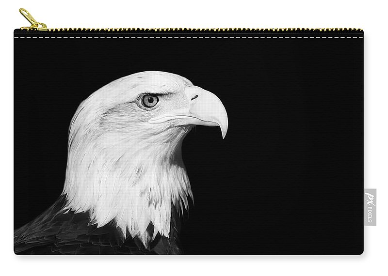Bald Eagle Carry-all Pouch featuring the photograph Bald Eagle by Stephanie McDowell