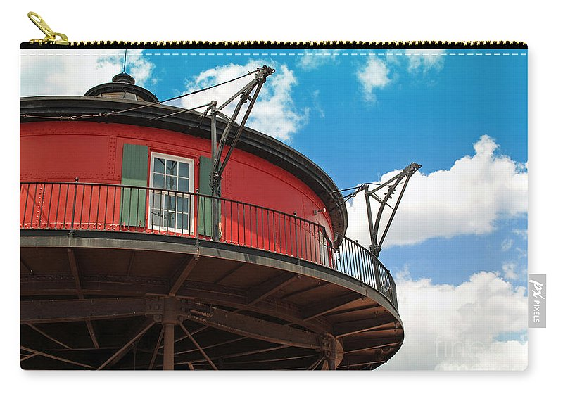 Lighthouse Carry-all Pouch featuring the photograph Baltimore Lighthouse by Jost Houk