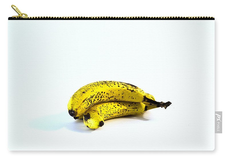 Banannas About To Turn Carry-all Pouch featuring the photograph Banannas About To Turn by Bill Cannon