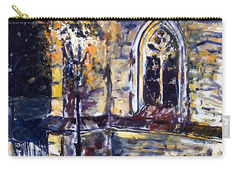 Landscape Carry-all Pouch featuring the painting Barbora by Pablo de Choros