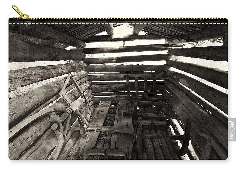 Seitseminen Carry-all Pouch featuring the photograph Barn by Jouko Lehto