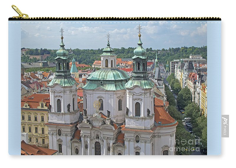 Prague Carry-all Pouch featuring the photograph Baroque Beauty by Ann Horn