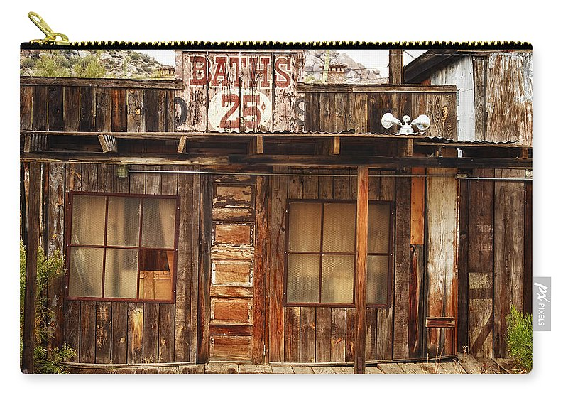 Baths Carry-all Pouch featuring the photograph Baths Twenty Five Cents by James BO Insogna