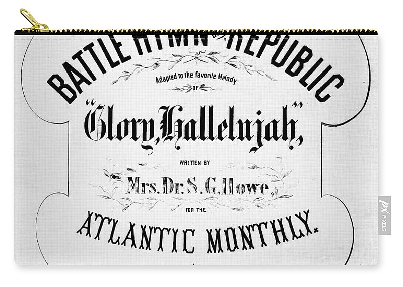 1862 Carry-all Pouch featuring the photograph Battle Hymn Of Republic by Granger