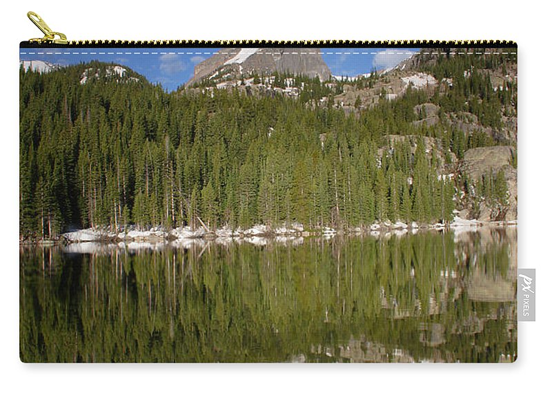 Bear Carry-all Pouch featuring the photograph Bear Lake 4 by John Brueske