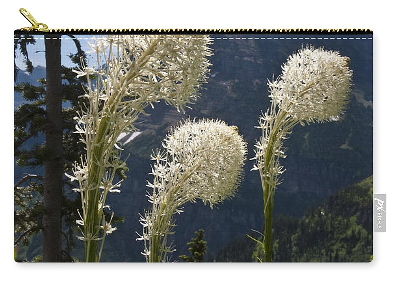 Beargrass Carry-all Pouch featuring the photograph Beargrass Squaw Grass - 4 by Paul Cannon