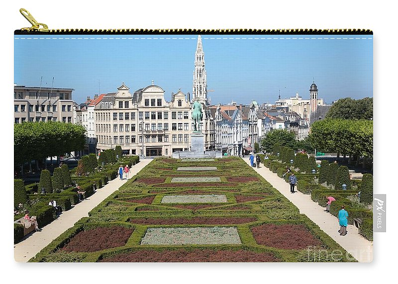 Brussels Carry-all Pouch featuring the photograph Beautiful Day In Bruessels by Carol Groenen