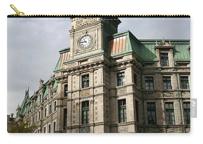 Building Carry-all Pouch featuring the photograph Beautiful Front by Christiane Schulze Art And Photography
