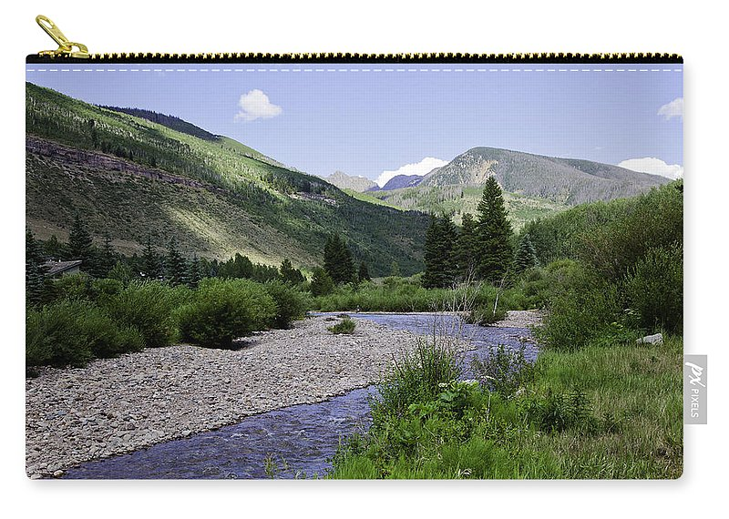 Vail Carry-all Pouch featuring the photograph Beautiful Vail - Colorado by Madeline Ellis