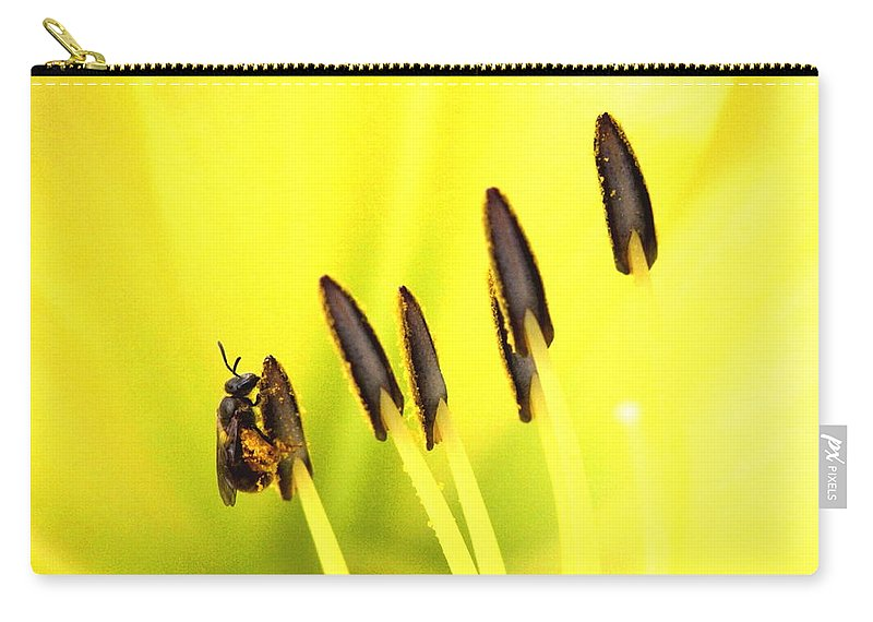 Carry-all Pouch featuring the photograph Bee A Little Different by Travis Truelove