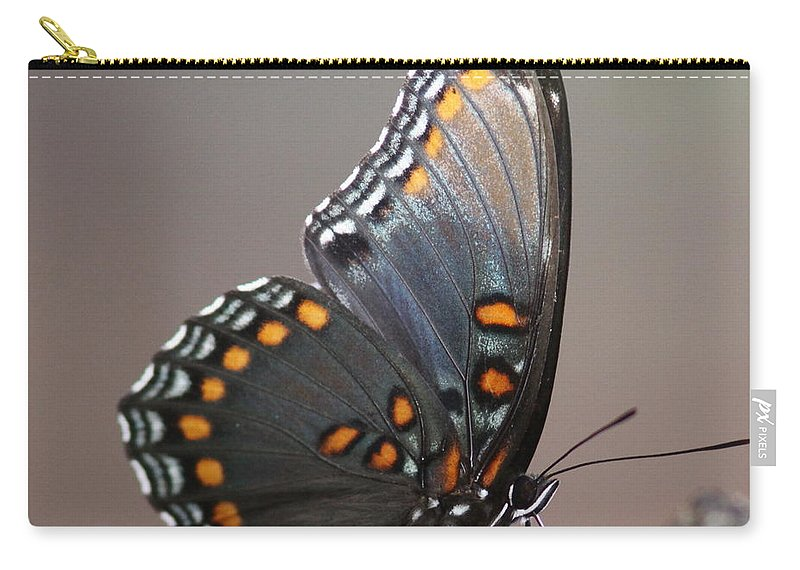 Butterfly Carry-all Pouch featuring the photograph Bee And Me by Travis Truelove