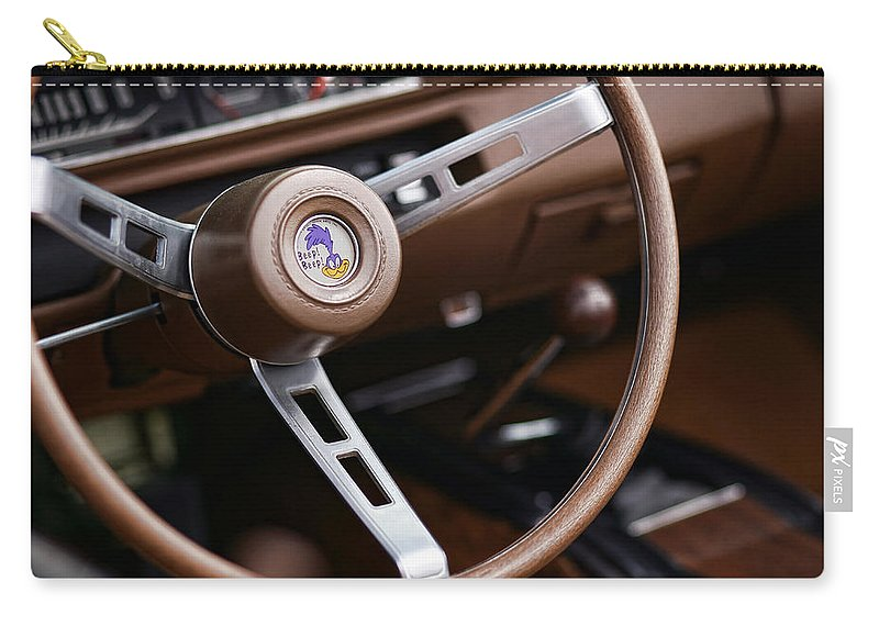 Roadrunner Carry-all Pouch featuring the photograph Beep Beep by Gordon Dean II