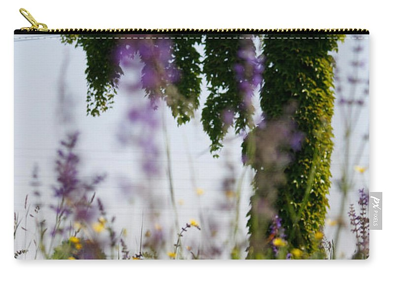 Carry-all Pouch featuring the photograph Behind The Untitled by Donato Iannuzzi