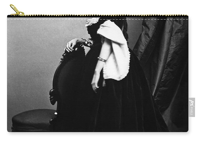 1860s Carry-all Pouch featuring the photograph Belle Boyd (1844-1900) by Granger