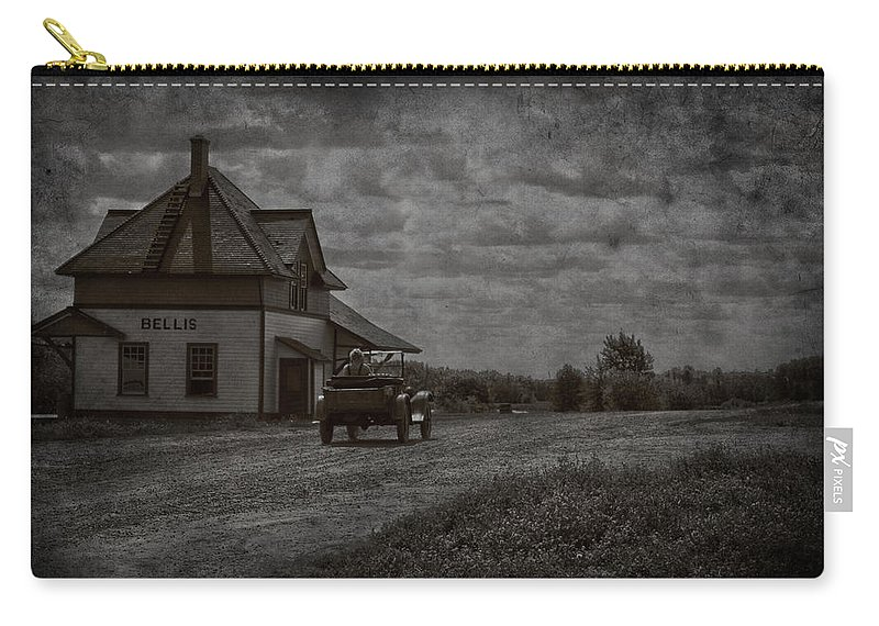 Old Car Road Carry-all Pouch featuring the photograph Bellis Road by The Artist Project
