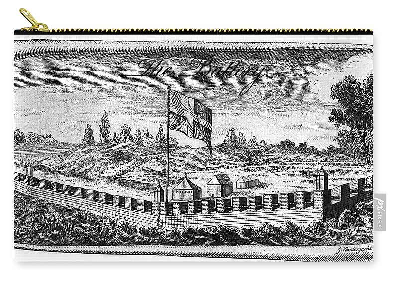 18th Century Carry-all Pouch featuring the photograph Benjamin Franklin: Battery by Granger