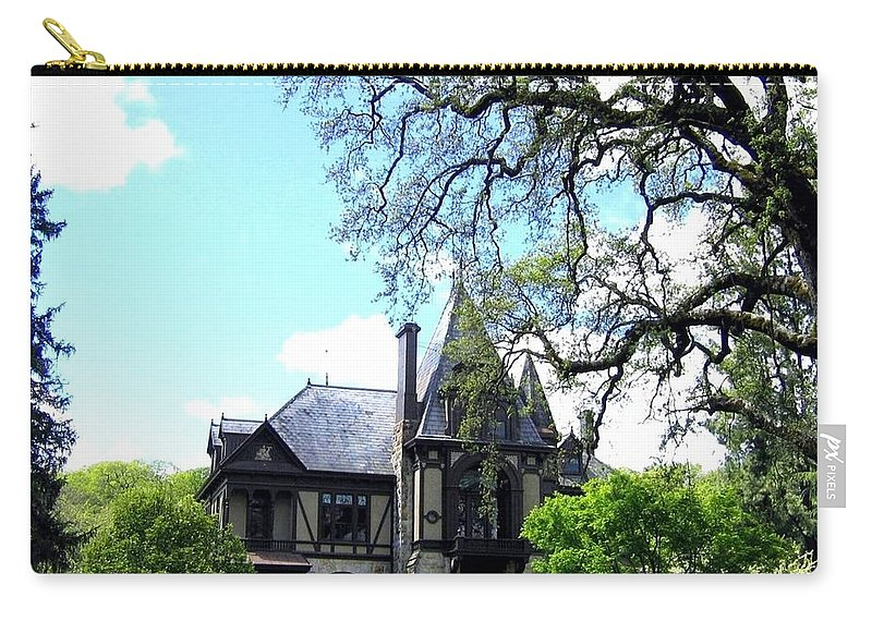 Beringers Carry-all Pouch featuring the photograph Beringer's Rhine House by Will Borden