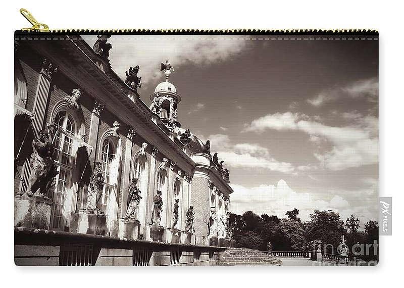 Berlin Carry-all Pouch featuring the photograph Berlin - Sanssouci Palace by Carol Groenen