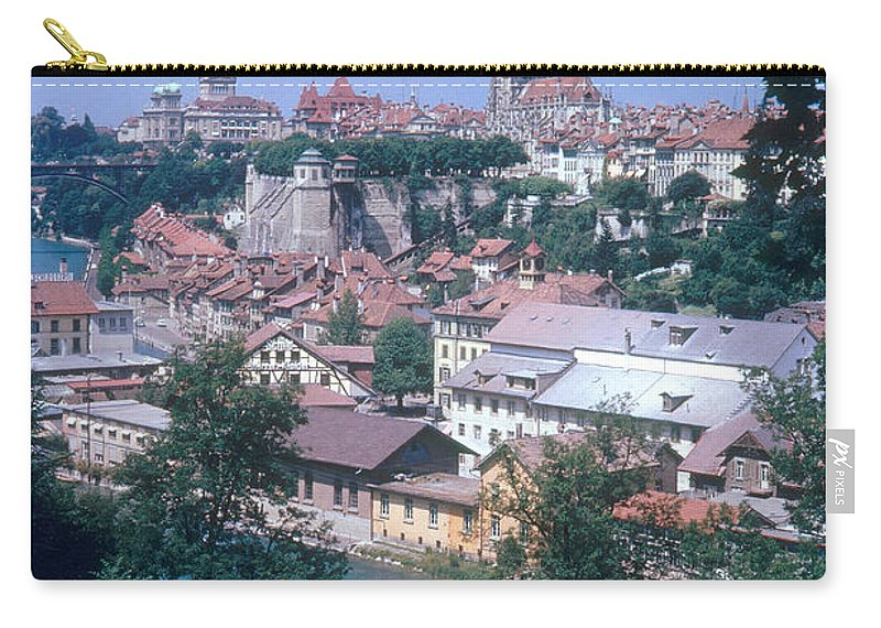 Travel Carry-all Pouch featuring the photograph Berne, Switzerland by Photo Researchers, Inc.