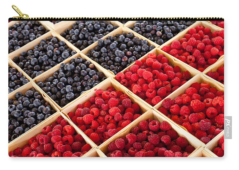 Berry Carry-all Pouch featuring the photograph Berries by Lauri Novak