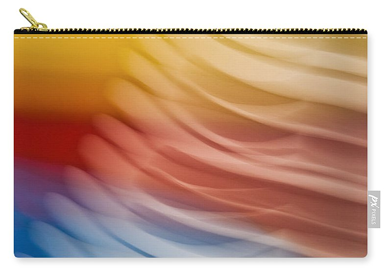 Abstract Carry-all Pouch featuring the photograph Beyond Limits by Barbara McMahon