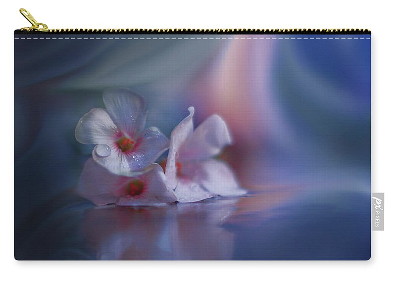 Aesthetic Carry-all Pouch featuring the photograph Beyond The Visible... by Juliana Nan