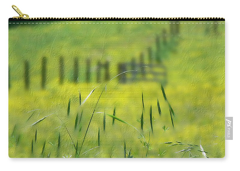 Tn Carry-all Pouch featuring the photograph Beyond The Weeds by Ericamaxine Price
