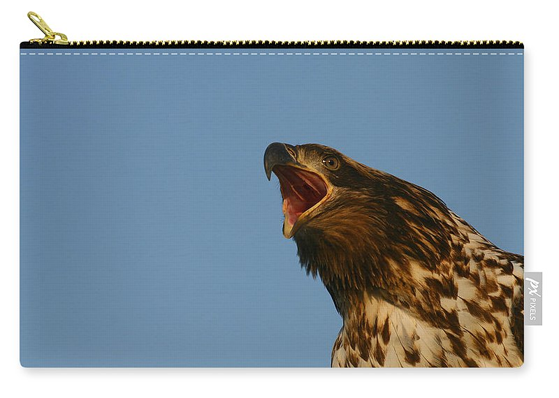 Doug Lloyd Carry-all Pouch featuring the photograph Big Mouth by Doug Lloyd
